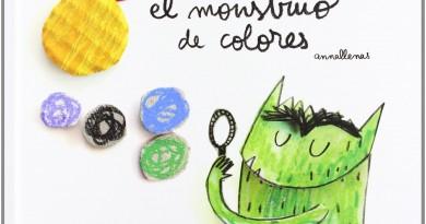 EL Monstruo De Colores - Portada