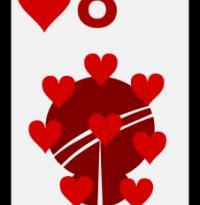 Ocho de corazones