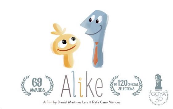 Premios del cortometraje Alike