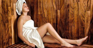 Mujer-sauna